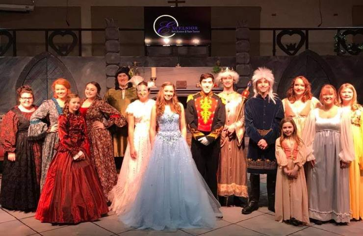 Cinderella Cast Photo