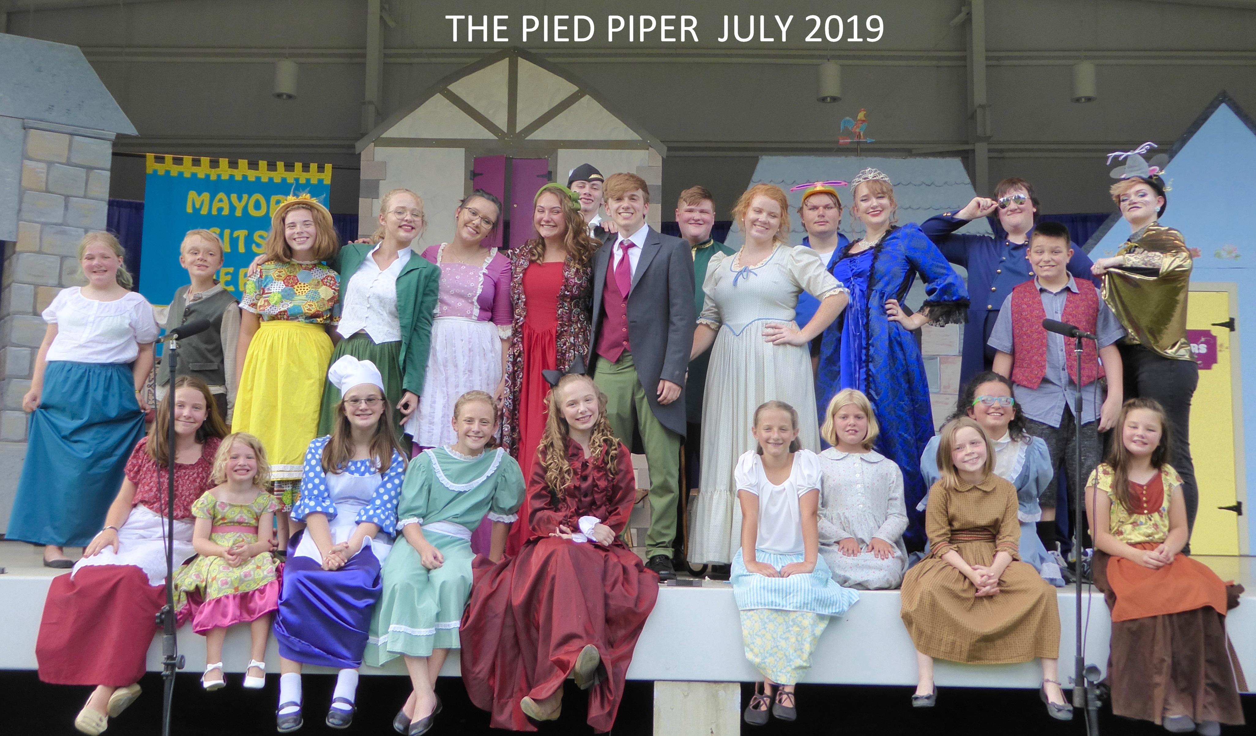 Pied Piper Cast Photo