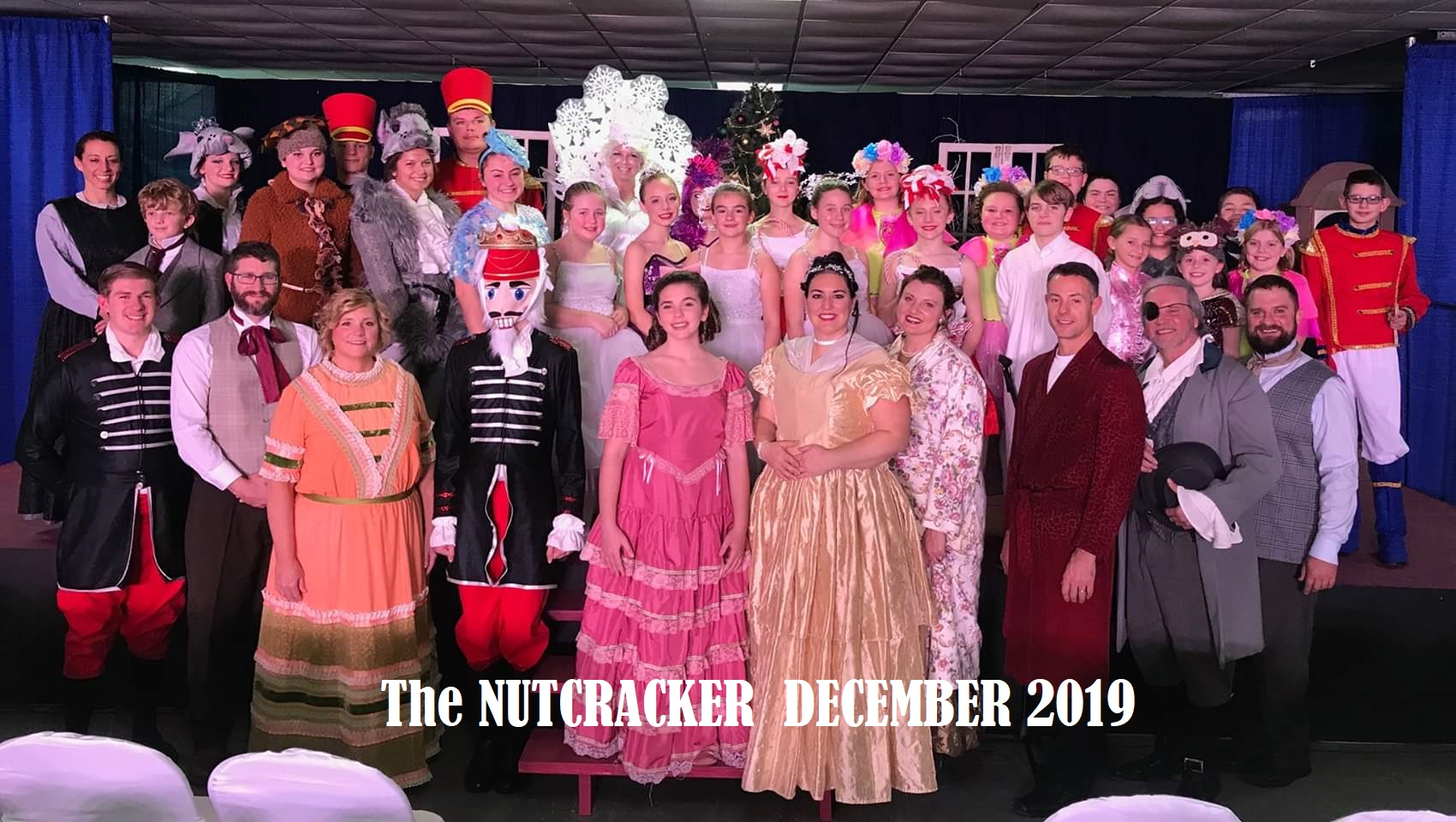 Nutcracker Cast Photo W-name